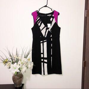 Calvin Klein sleeveless neck dress size 12